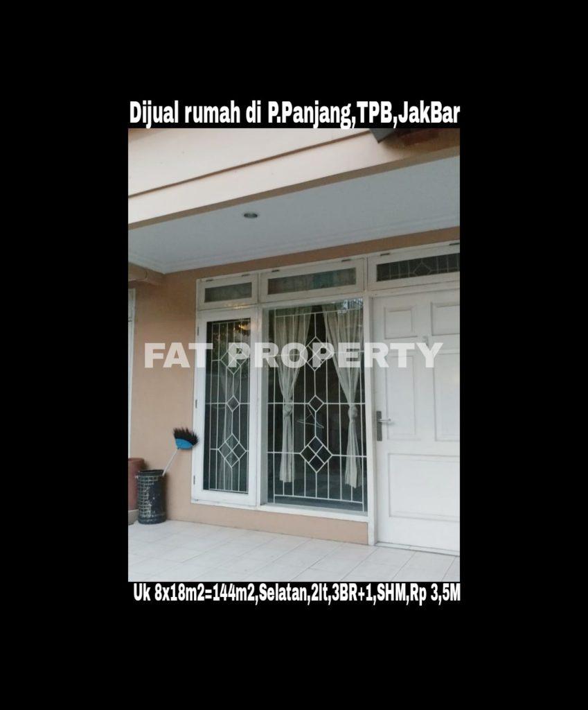 Dijual rumah komplek elite di Taman Permata Buana Jl Pulau Panjang,Puri Indah,Jakarta Barat.