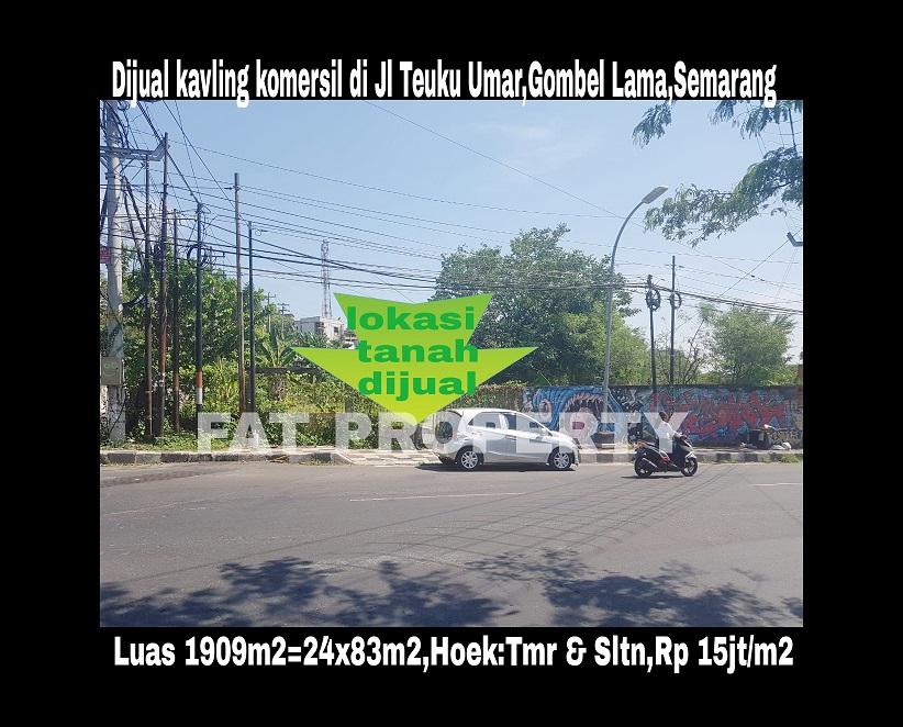 Tanah Komersil Dijual di Gombel Lama, Semarang