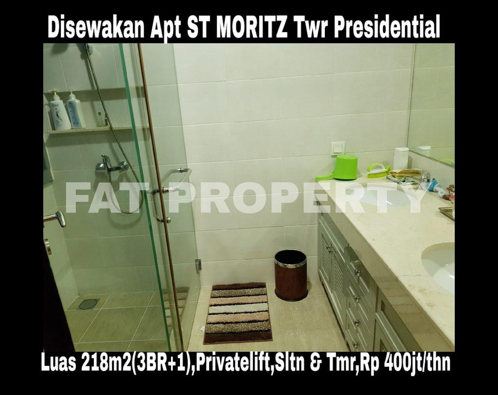 Disewakan Apartment ST Moritz di Jl Puri Indah Jakarta Barat.
