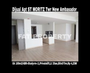 Dijual Apartment ST MORITZ Tower New Ambasador.