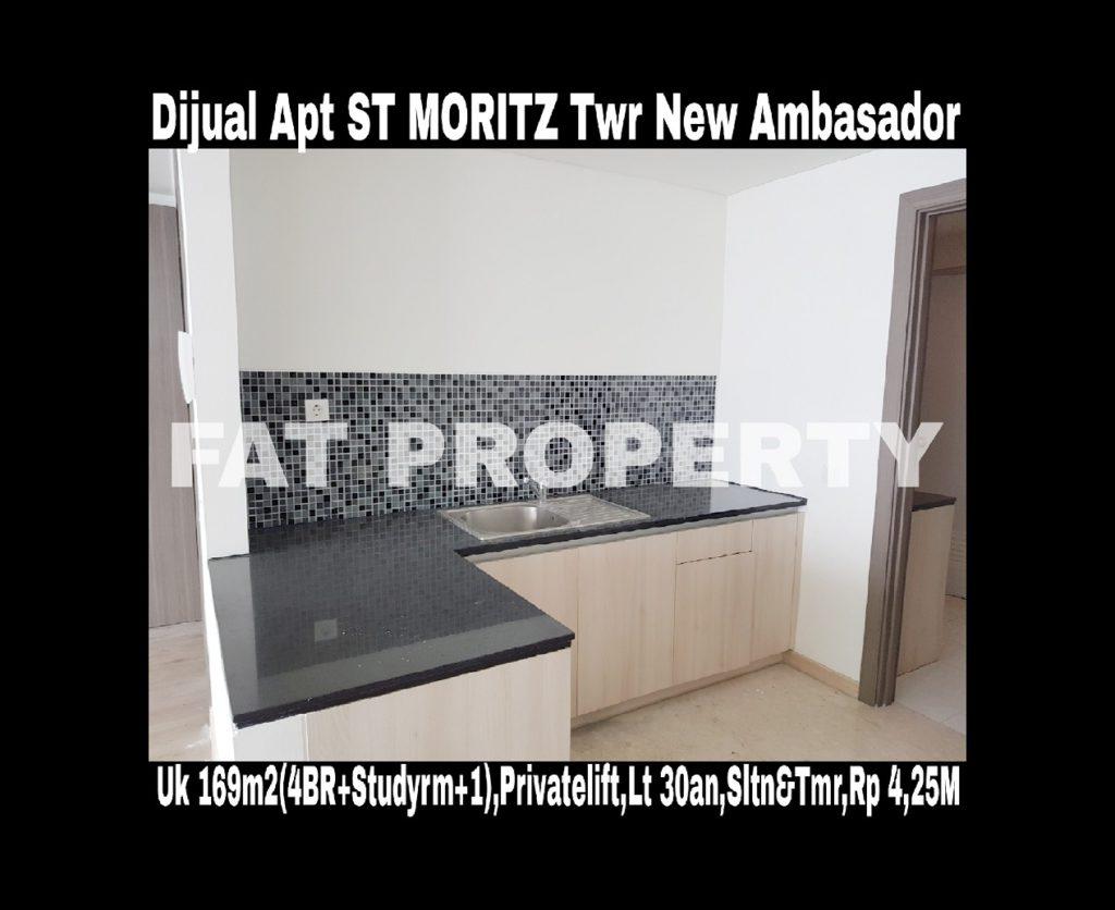 Dijual Apartment ST MORITZ Tower New Ambasador.