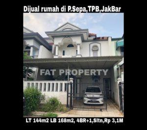 Dijual rumah komplek elite di Taman Permata Buana Jl Sepa,Puri Indah,Jakarta Barat.