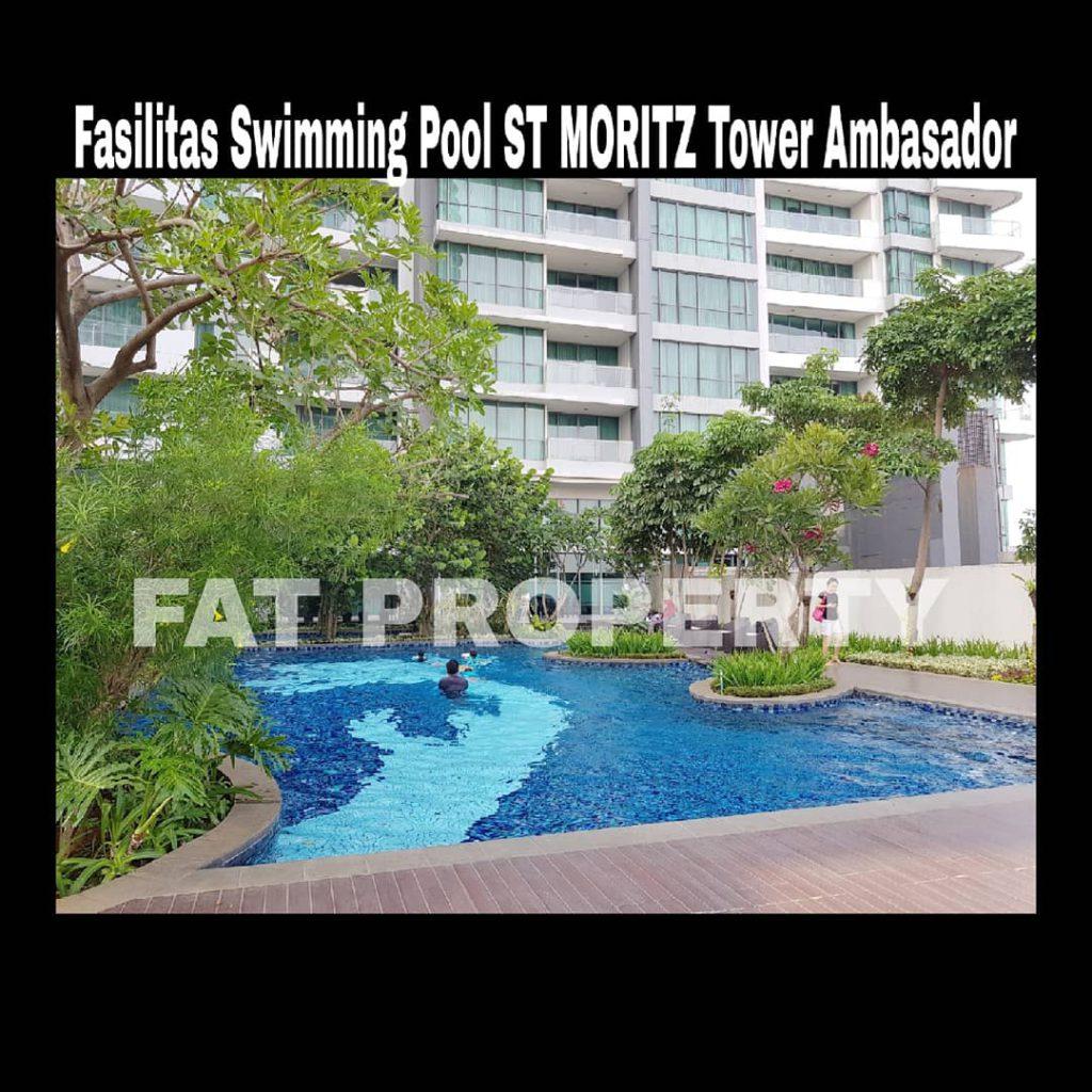Dijual Apartment ST MORITZ Tower Ambasador luas 145m2 di lt rendah.