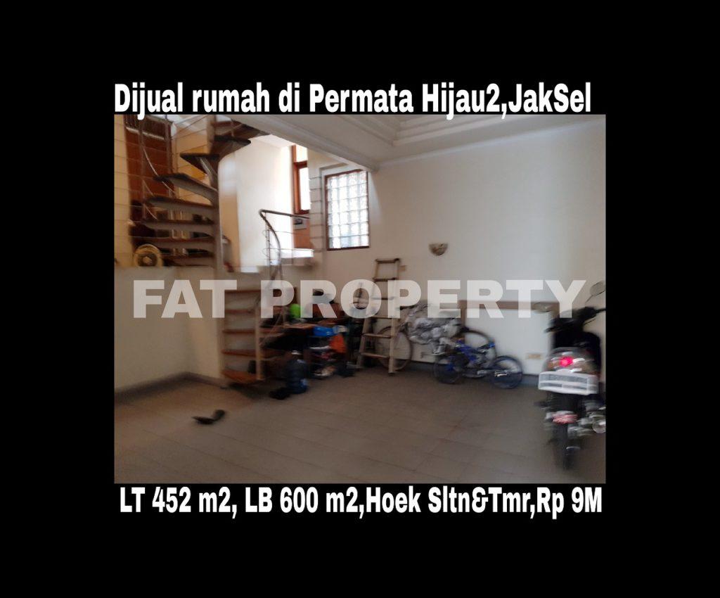 Dijual rumah mewah di Permata Hijau 2 ,Jakarta Selatan