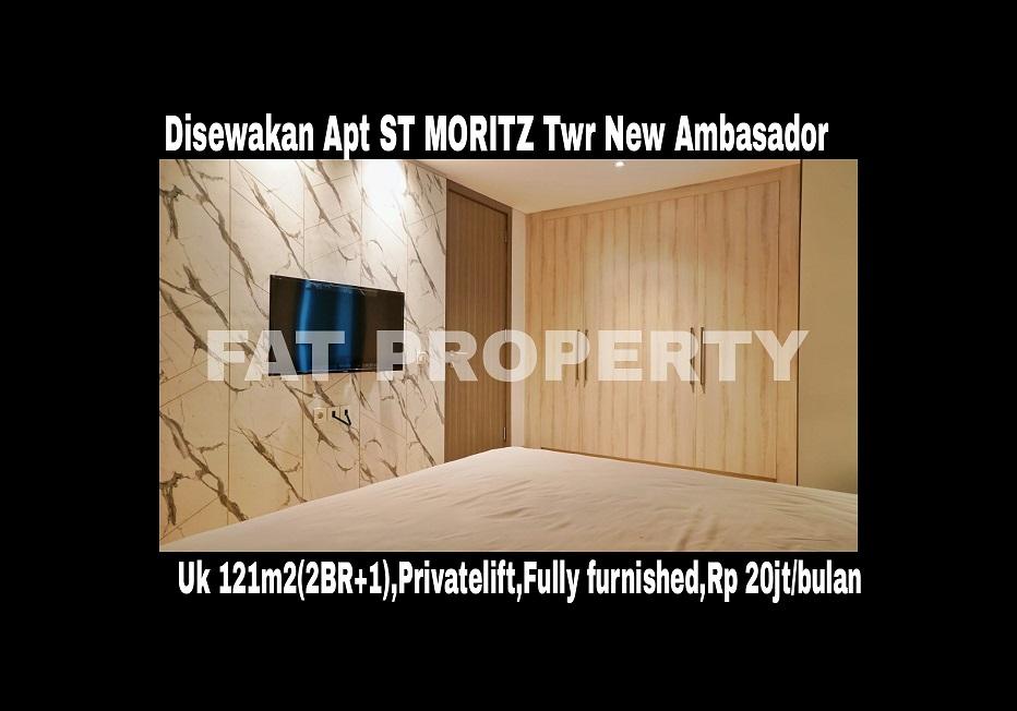 Disewakan Apartment ST MORITZ Tower New Ambasador
