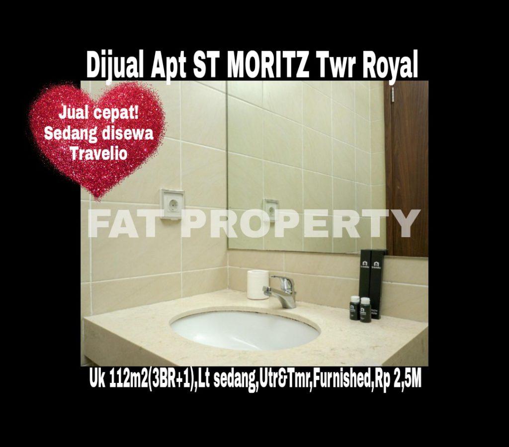 Dijual Apartment ST MORITZ di Puri Indah,Jakarta Barat