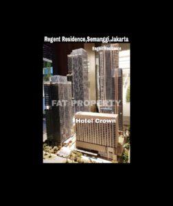 Disewakan Apartemen Regent Residence/ Mangkuluhur Residence,Semanggi,Jakarta.