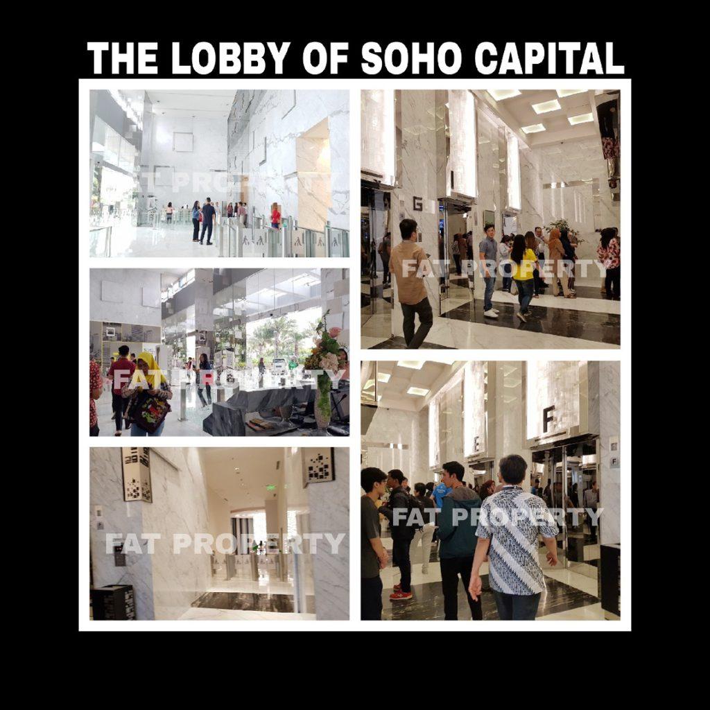 Dijual office space di SOHO CAPITAL,CENTRAL PARK,JAKARTA BARAT.