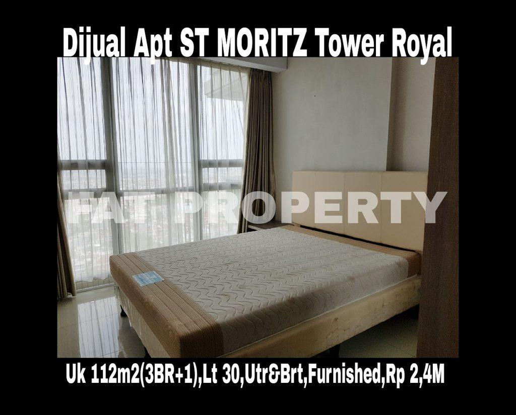 Dijual Apartment ST MORITZ di Puri Indah,Jakarta Barat,