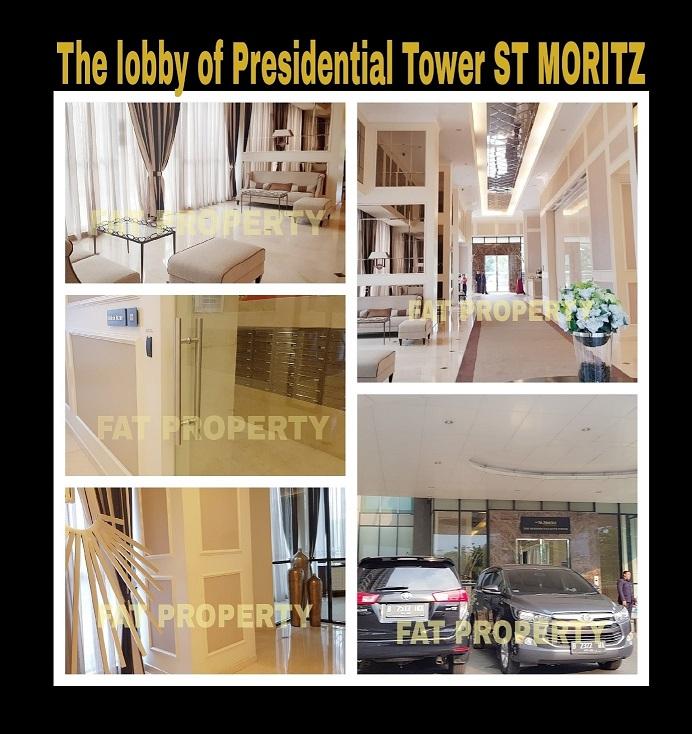 Dijual Apartment ST MORITZ Tower Presidential