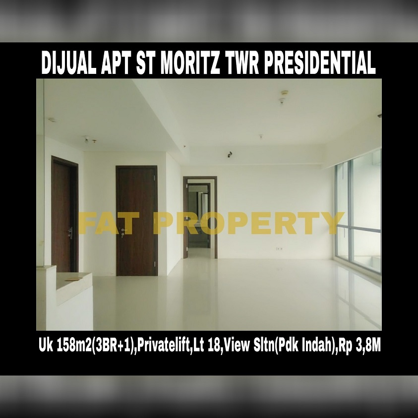 Dijual Apartment ST MORITZ Tower Presidential the best tower