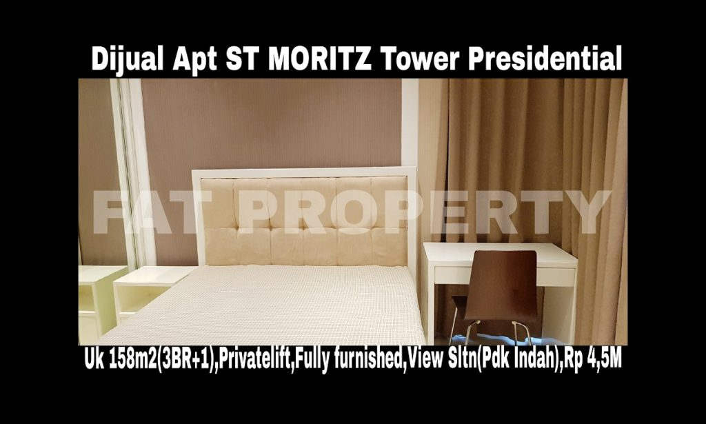 Dijual Apartment ST MORITZ Tower Presidential