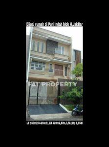 Dijual cepat rumah bagus di komplek perumahan elite di Puri Indah blok H,Jakarta Barat.