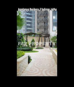 Dijual Condominium Anandamaya Residence,Jl Sudirman (Komplek Menara Astra),Jakarta Pusat