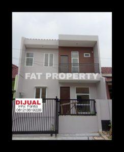 Dijual rumah baru di Metro Permata 1,Karang Tengah,JakBar.