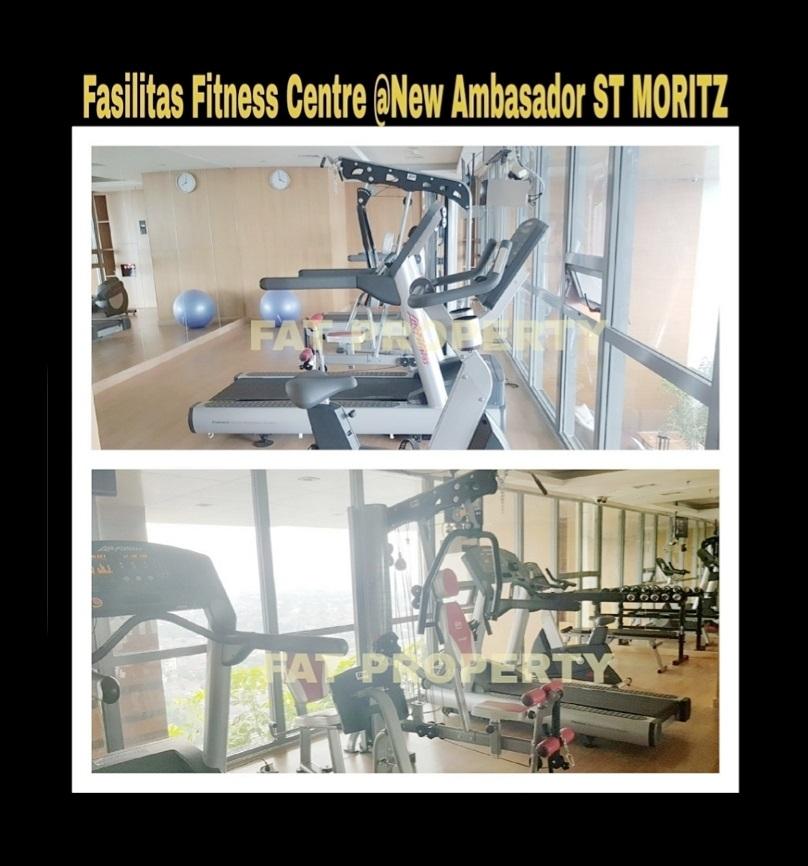 Disewakan Apartment ST MORITZ Tower New Ambasador, tower paling high end dan terbaru serta paling strategis di tengah2 mal.