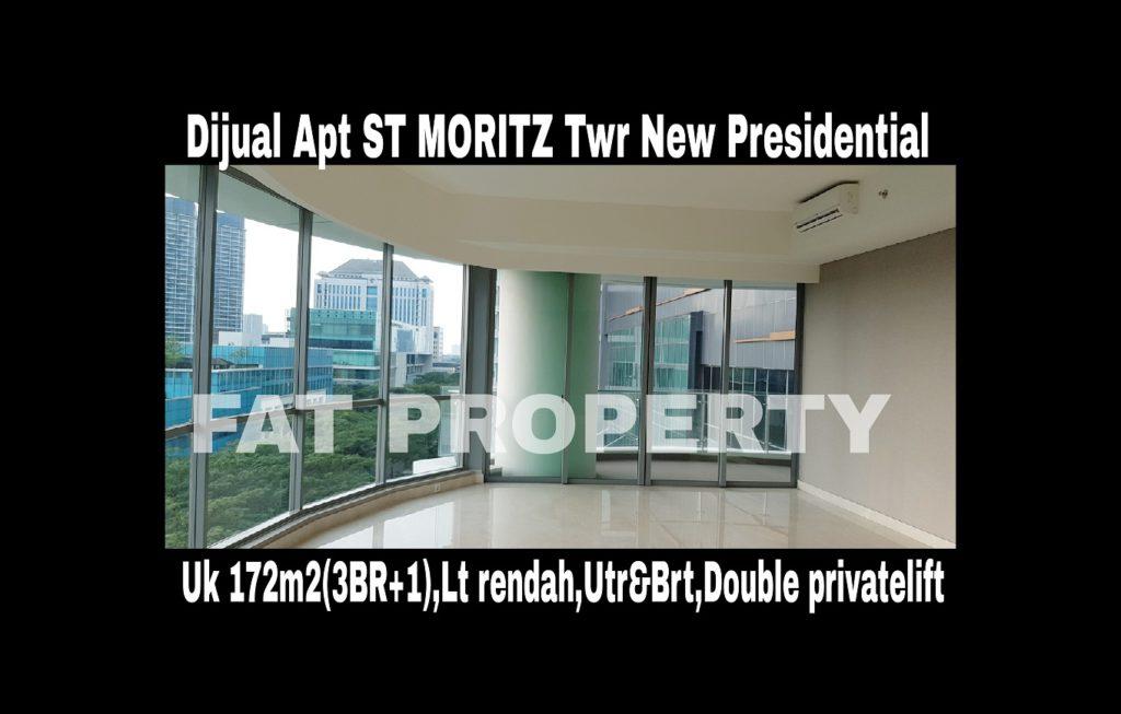 Dijual Apartment ST MORITZ Tower terbaru dan terbaik,New Presidential Tower