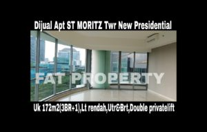 Dijual Apartment ST MORITZ Tower terbaru dan terbaik,New Presidential Tower