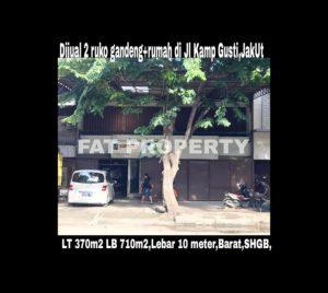 Dijual tempat usaha di Jl.Kampung Gusti,Pejagalan,Penjaringan,Jakarta Utara.