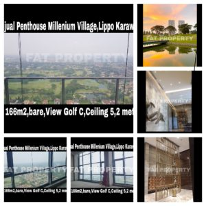 Dijual Penthouse Apartment Millenium Village Tower Fairview,Lippo Karawaci.
