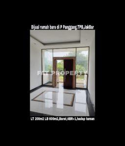 Dijual rumah baru mewah bagus hadap taman di Taman Permata Buana di cluster baru,Jl Pulau Panggang,Jakarta Barat