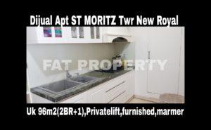 Dijual Apartment ST Moritz di Jl Puri Indah Jakarta Barat