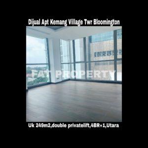 Dijual Apartement Kemang Village, integrated development terlengkap di Jakarta Selatan