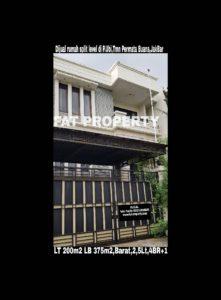 Dijual rumah mewah split level di Pulau Ubi Raya,Taman Permata Buana