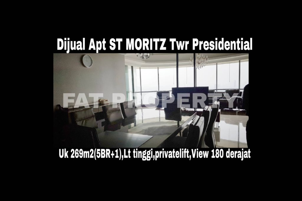 Dijual Apartment ST MORITZ Tower Presidential the best unit in the best tower