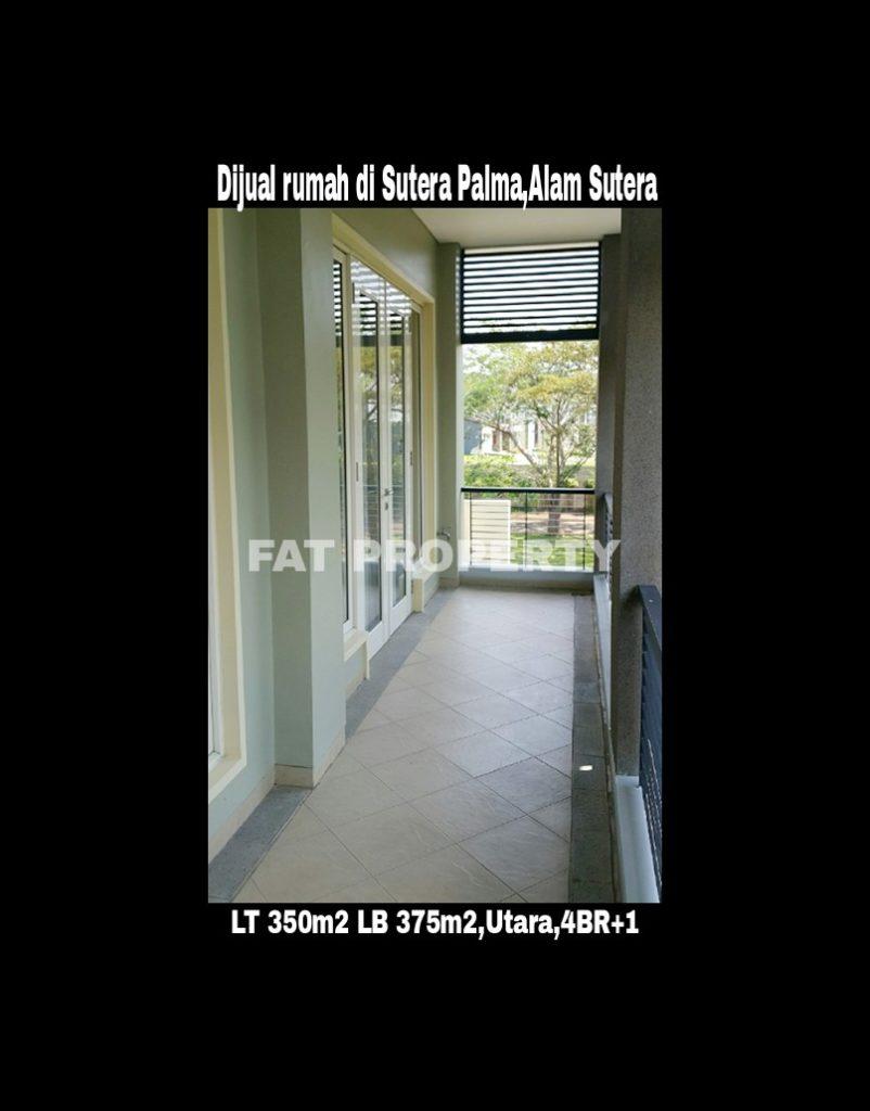 Dijual rumah bagus sudah direnov di Sutera Palma,Alam Sutera,Serpong.