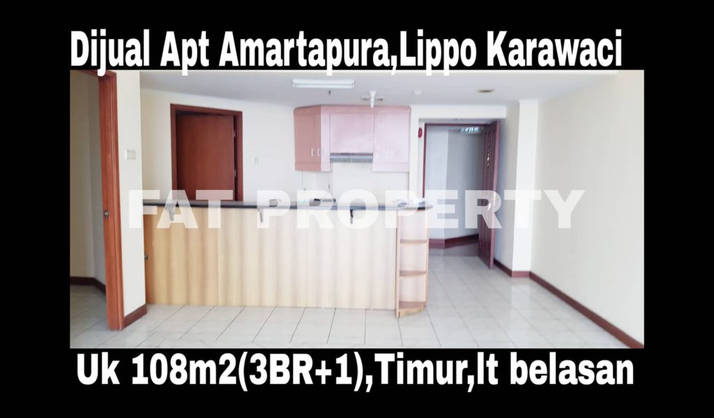 Dijual Apartemen Amartapura di Lippo Karawaci.