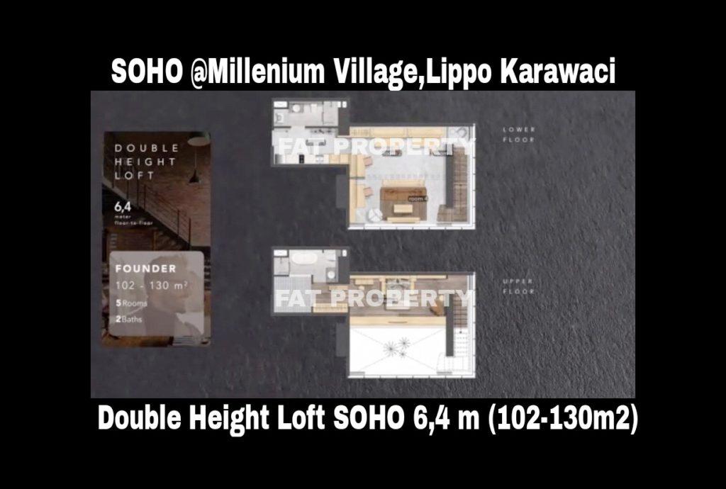 SOHO di Millenium Village Lippo Karawaci Harga Rp 500 Juta-an