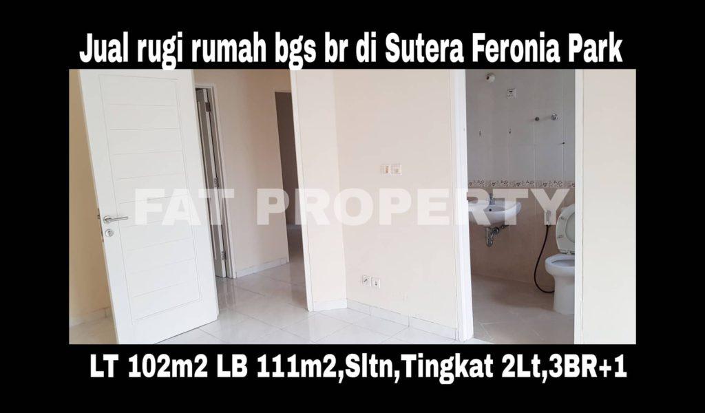 Dijual cepat BU rumah bagus di Alam Sutera.