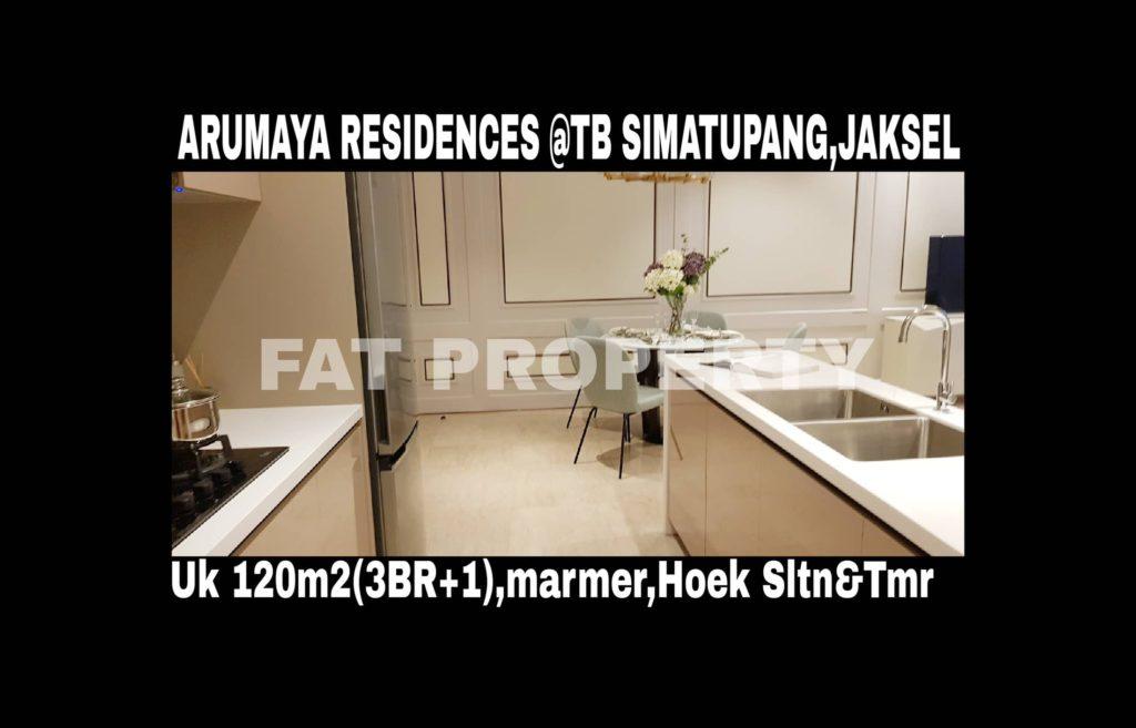ARUMAYA RESIDENCES @Jl TB Simatupang,Jakarta Selatan.