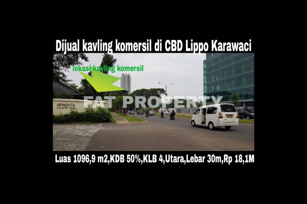 Dipasarkan kavling komersil di CBD Lippo Karawaci sebagai pusat bisnis: BEVERLY COMMERCIAL DISTRICT.