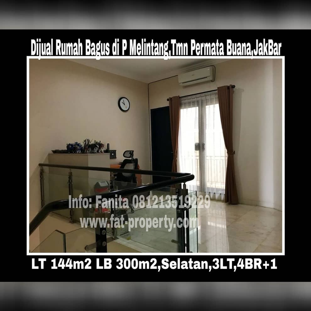 Dijual rumah mewah bagus di Jl.Pulau Melintang,Taman Permata Buana,samping Puri Indah,Jakarta Barat.