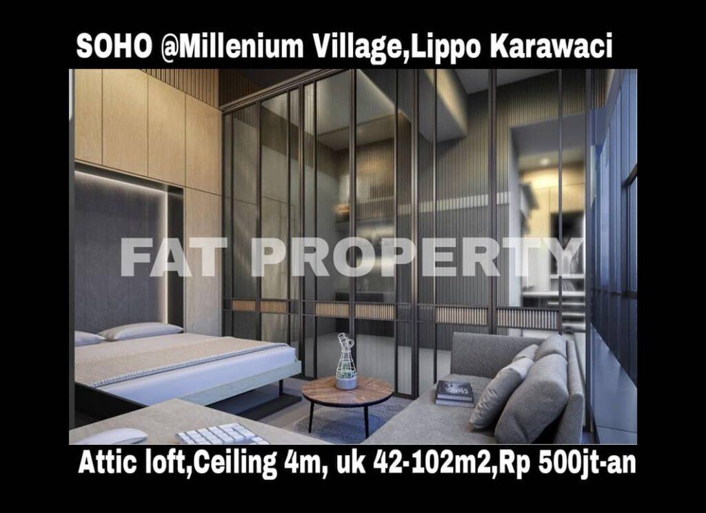Segera launching Smart Office Smart Home (SOHO) di Millenium Village,Lippo Karawaci.