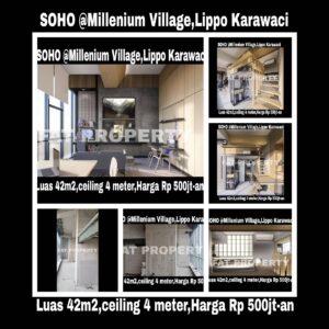 Wowww SOHO hanya Rp 500jt-an!