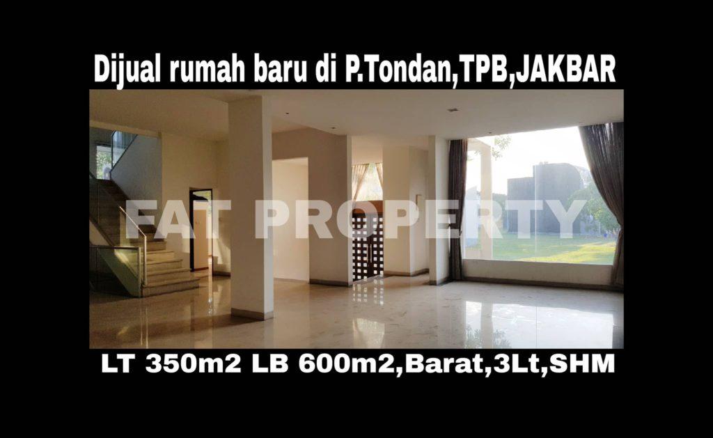 Dijual rumah di Taman Permata Buana,Jl Pulau Tondan Boulevard,Jakarta Barat.