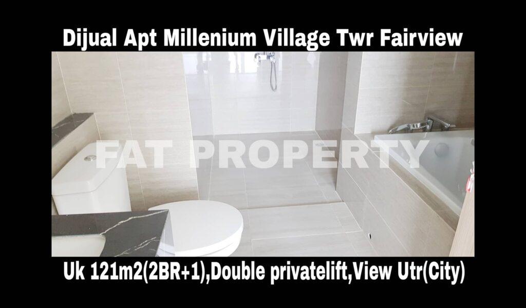 Dijual Apartment Millenium Village Tower Fairview,Lippo Karawaci.