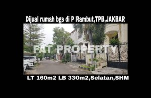 Dijual rumah mewah bagus di Jl.Pulau Rambut,Taman Permata Buana,samping Puri Indah,Jakarta Barat.