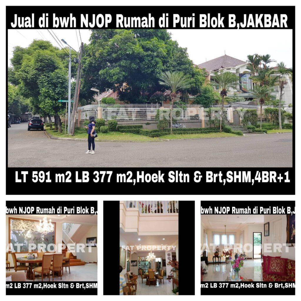 Feature Listing: Jual di Bawah NJOP Rumah Depan Masjid di ...