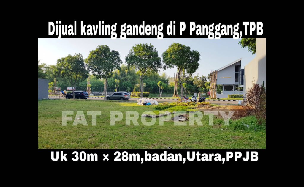 Dijual kavling premium hunian di Jl Boulevard Pulau Panggang Blok R1 no 61 & 62,Taman Permata Buana,Jakarta Barat.