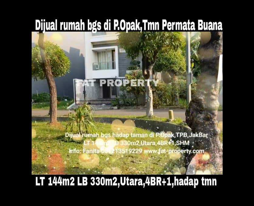 Dijual rumah mewah bagus di Jl.Pulau Opak,Taman Permata Buana,samping Puri Indah,Jakarta Barat.
