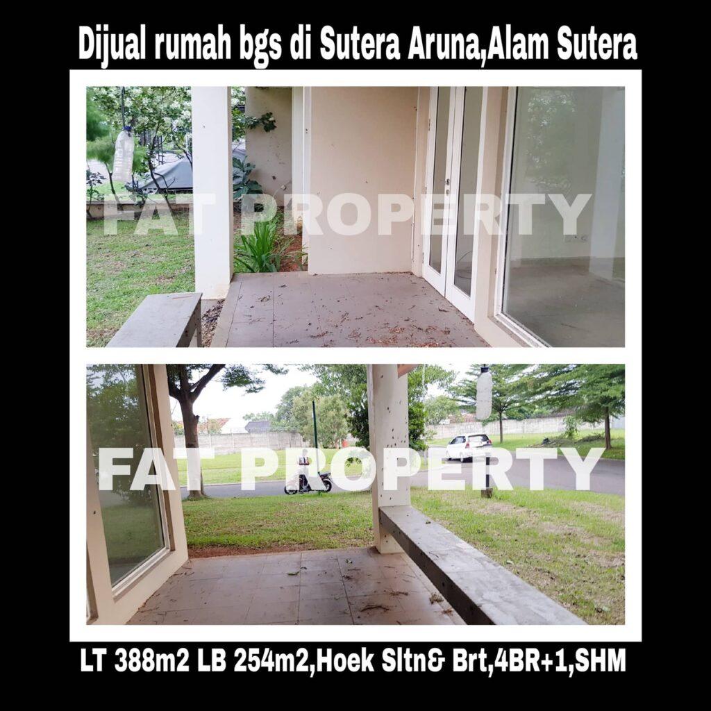 Jual cepat rumah bagus hoek di Sutera Aruna,Alam Sutera,Serpong.
