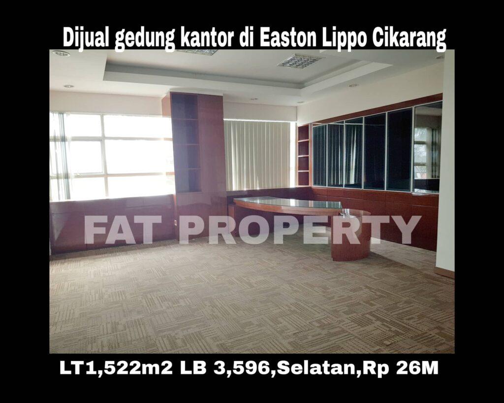 Dijual gedung di Easton Commercial Centre,Jl Gunung Panderman,Lippo Cikarang.