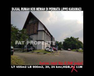 Dijual rumah kos mewah di Lippo Karawaci.