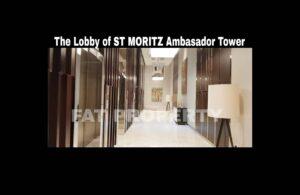 Dijual Apartment ST MORITZ Tower Ambasador luas 157m2 di lt 30-an.