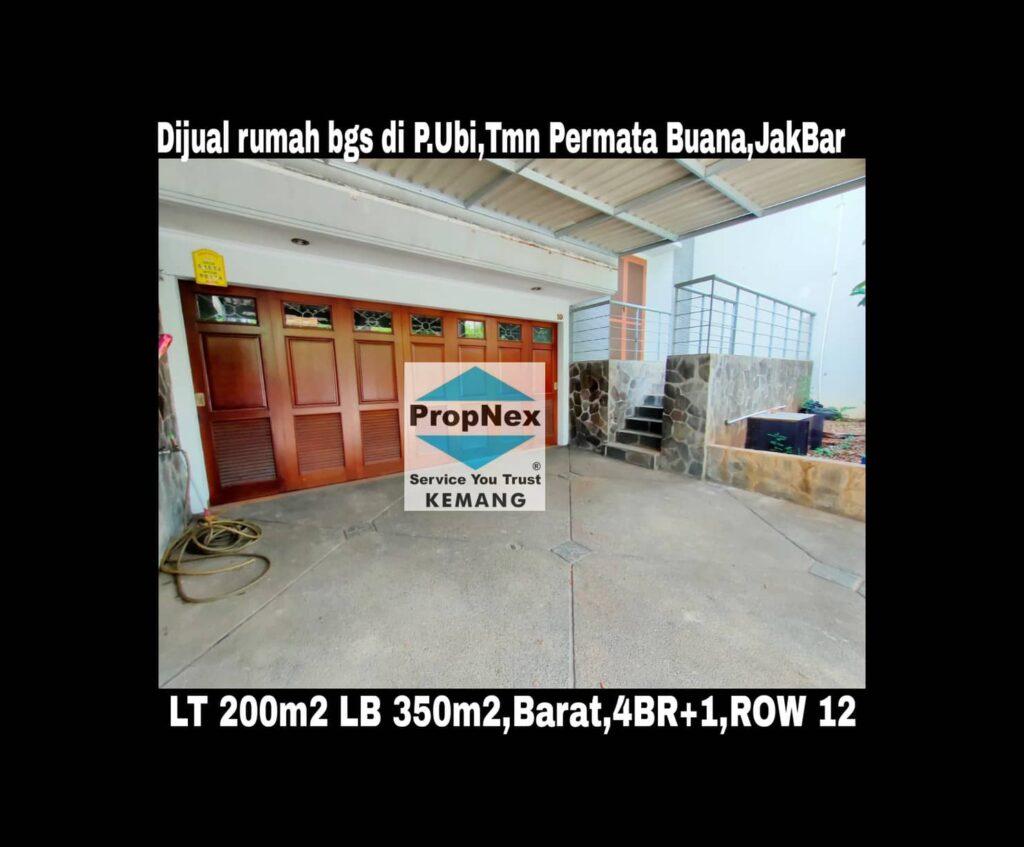 Dijual rumah mewah baru renov di Pulau Ubi Raya,Taman Permata Buana,Jakarta Barat.
