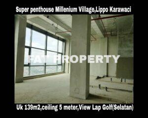 Dijual Super Psenthouse Apartment Millenium Village Tower Fairview,Lippo Karawaci.